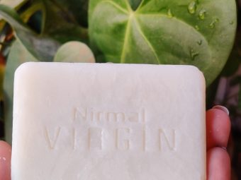 KLF Nirmal VCO Soap pic 1-Very Moisturising-By thecolorfool