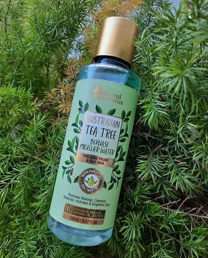 Oriental Botanics Australian Tea Tree Bi-Phase Micellar Water-Wonderful makeup remover-By swetha_g