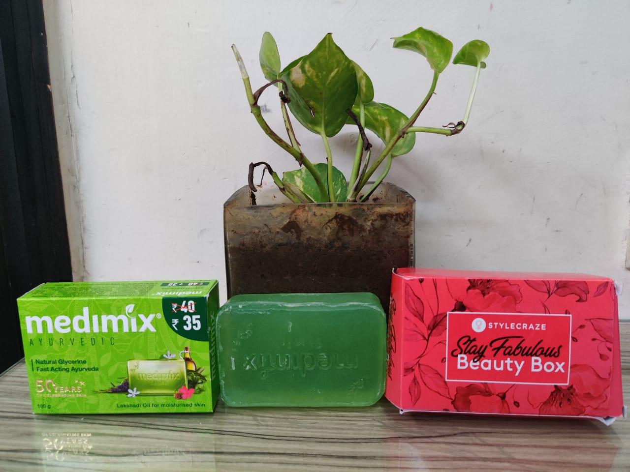 Medimix Ayurvedic Natural Glycerine soap with Lakshadi Oil -MEDIMIX AYURVEDIC SOAP-By rituka90