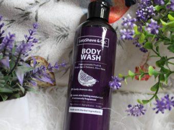 LetsShave Body Wash -Refreshing fragrance-By aanchalmandotia
