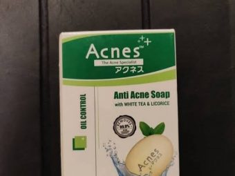 Acnes Oil Control Soap -Remove extra oil from face-By aanchalmandotia