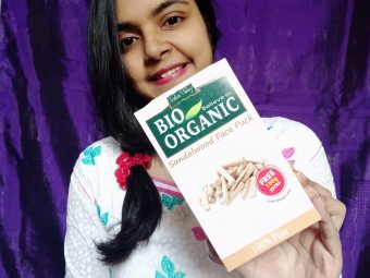 Indus Valley Bio Organic Sandalwood Face Pack Powder -Amazing product-By suchismita