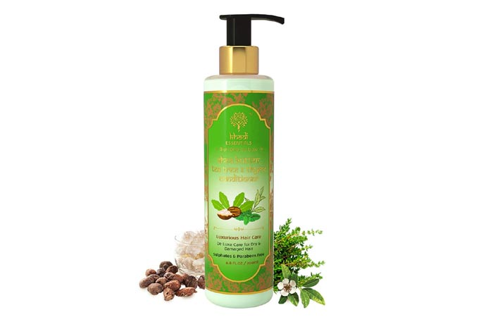 khadi ESSENTIALS Shea Butter, Tea Tree & Thyme Conditioner