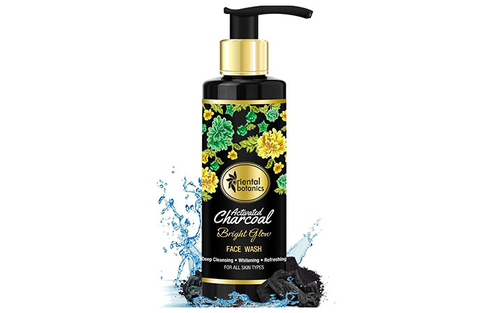 oriental botanics Activated Charcoal Bright Glow Face Wash