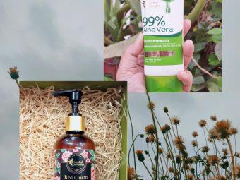 Oriental Botanics Red Onion Hair Conditioner pic 2-Good to try-By janhavipatel_