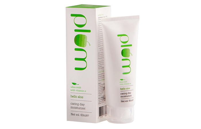 plum caring day moisturizer