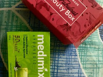 Medimix Ayurvedic Natural Glycerine soap with Lakshadi Oil -Best soap for acne-By shivaniomray