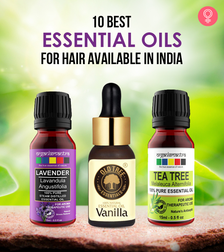 10 Best Essential Oils For Hair Available In India