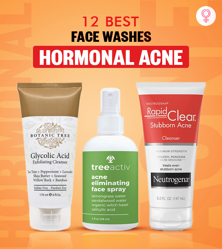 10 Best Face Washes For Hormonal Acne