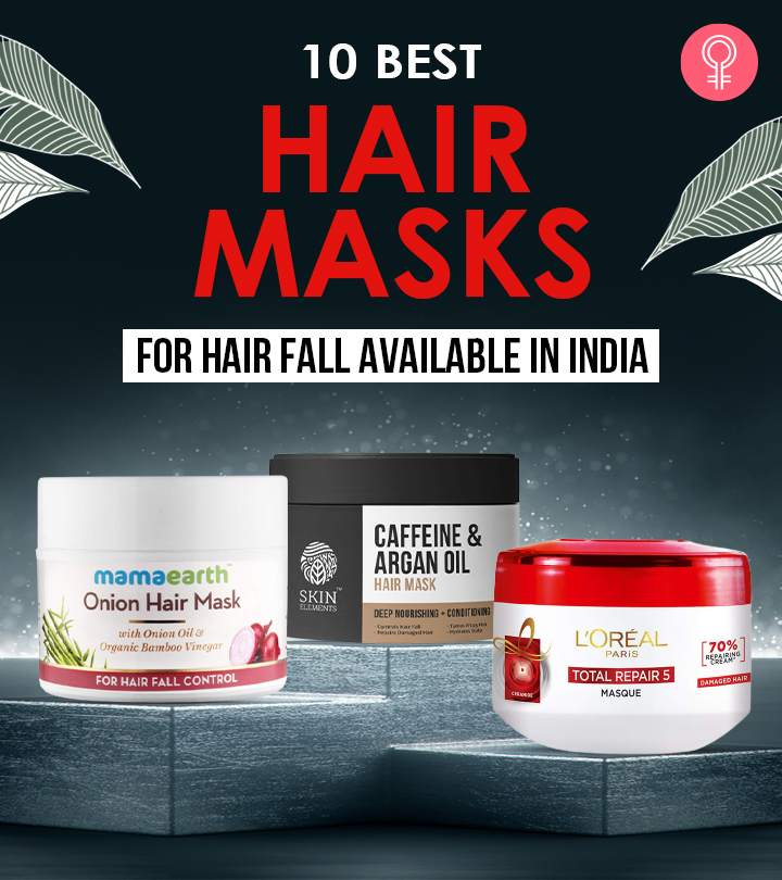10 Best Hair Masks For Hair Fall Available In India