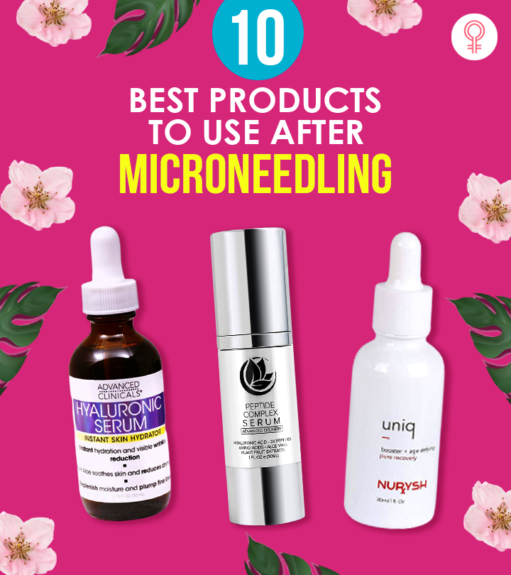 10 Best Products To Use After Microneedling