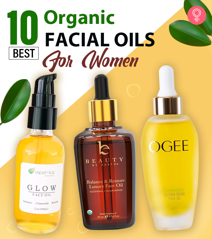 10 Best Recommended Organic Facial Oils For Women