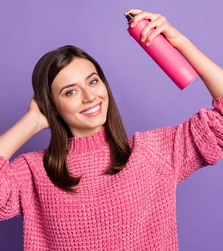 11 Best Drugstore Heat Protectant Sprays To Use Before Styling