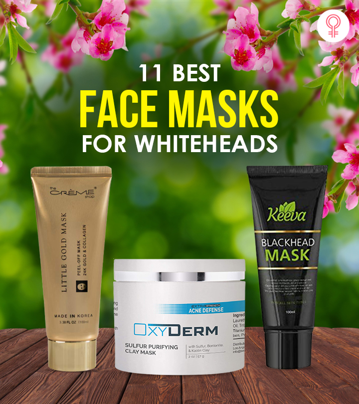 11 Best Face Masks For Whiteheads