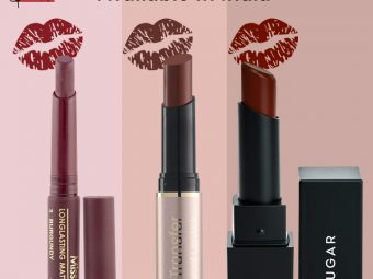 11 Best Long-Lasting Lipsticks Available In India