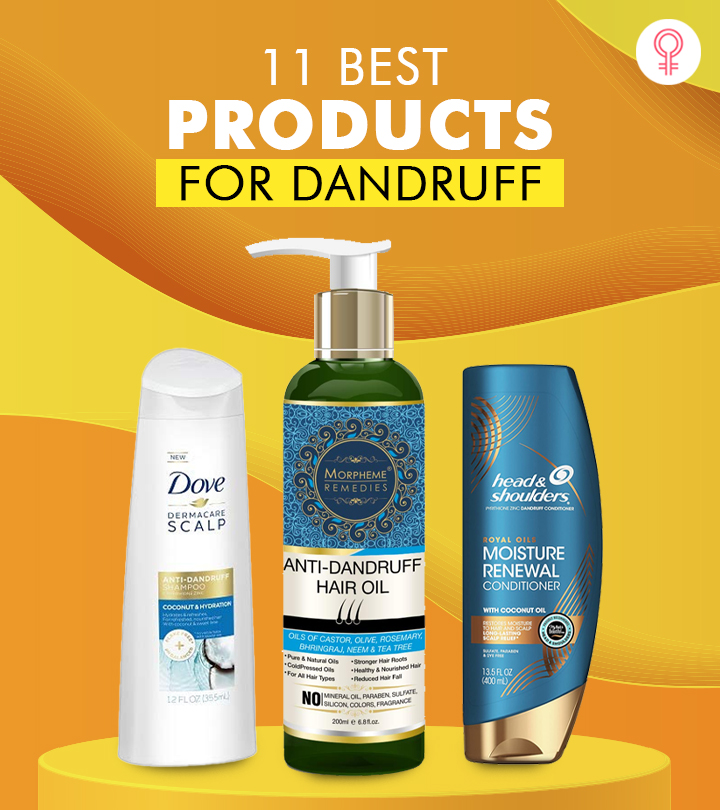 11 Best Products For Dandruff – 2021