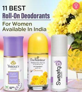 Best Roll-On Deodorants For Women Available In India