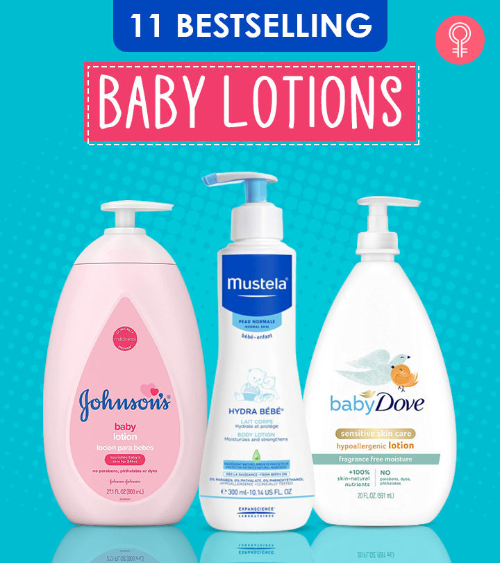 11 Bestselling Baby Lotions Of 2021