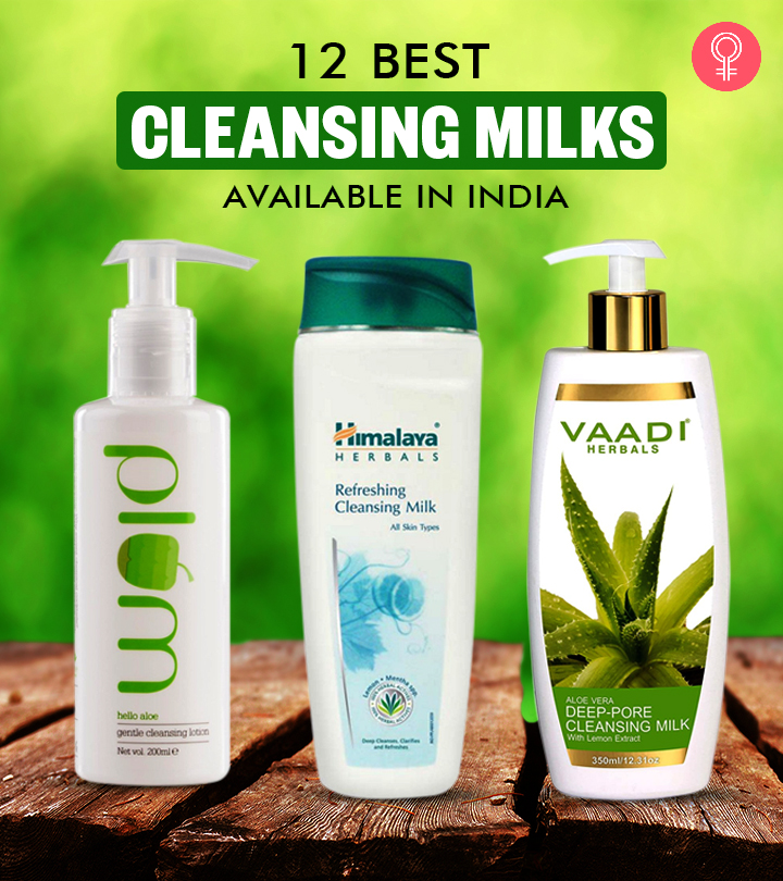12 Best Cleansing Milks Available In India