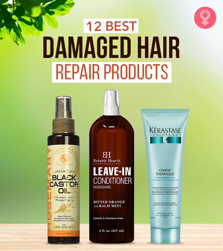12 Best Damaged Hair Repair Products Of 2021