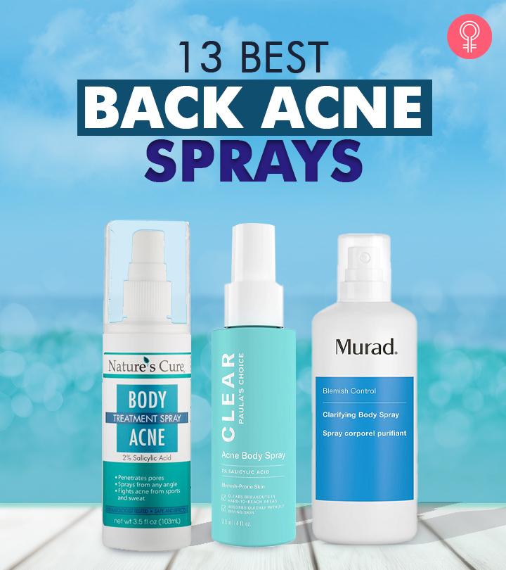 13 Best Back Acne Sprays
