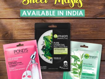 13 Best Sheet Masks Available In India