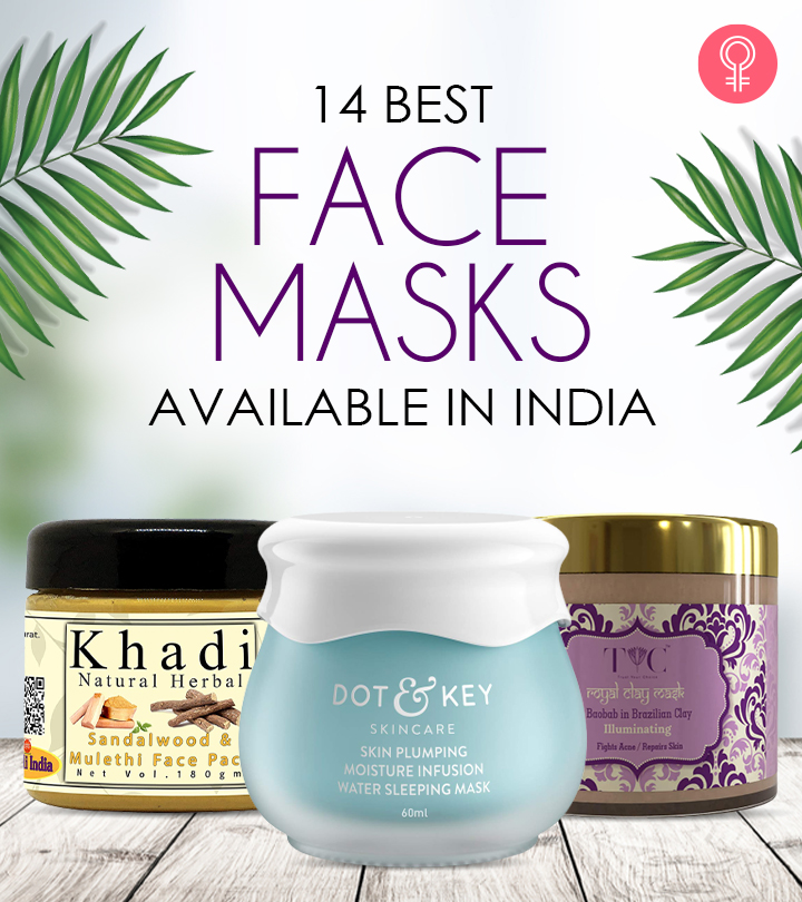 14 Best Face Masks Available In India