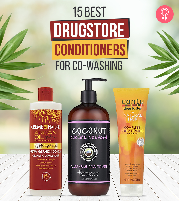 15 Best Drugstore Conditioners For Co-Washing