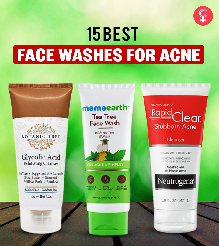 15 Best Face Washes For Acne In 2021