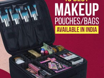 15 Best Makeup Pouches/Bags Available In India