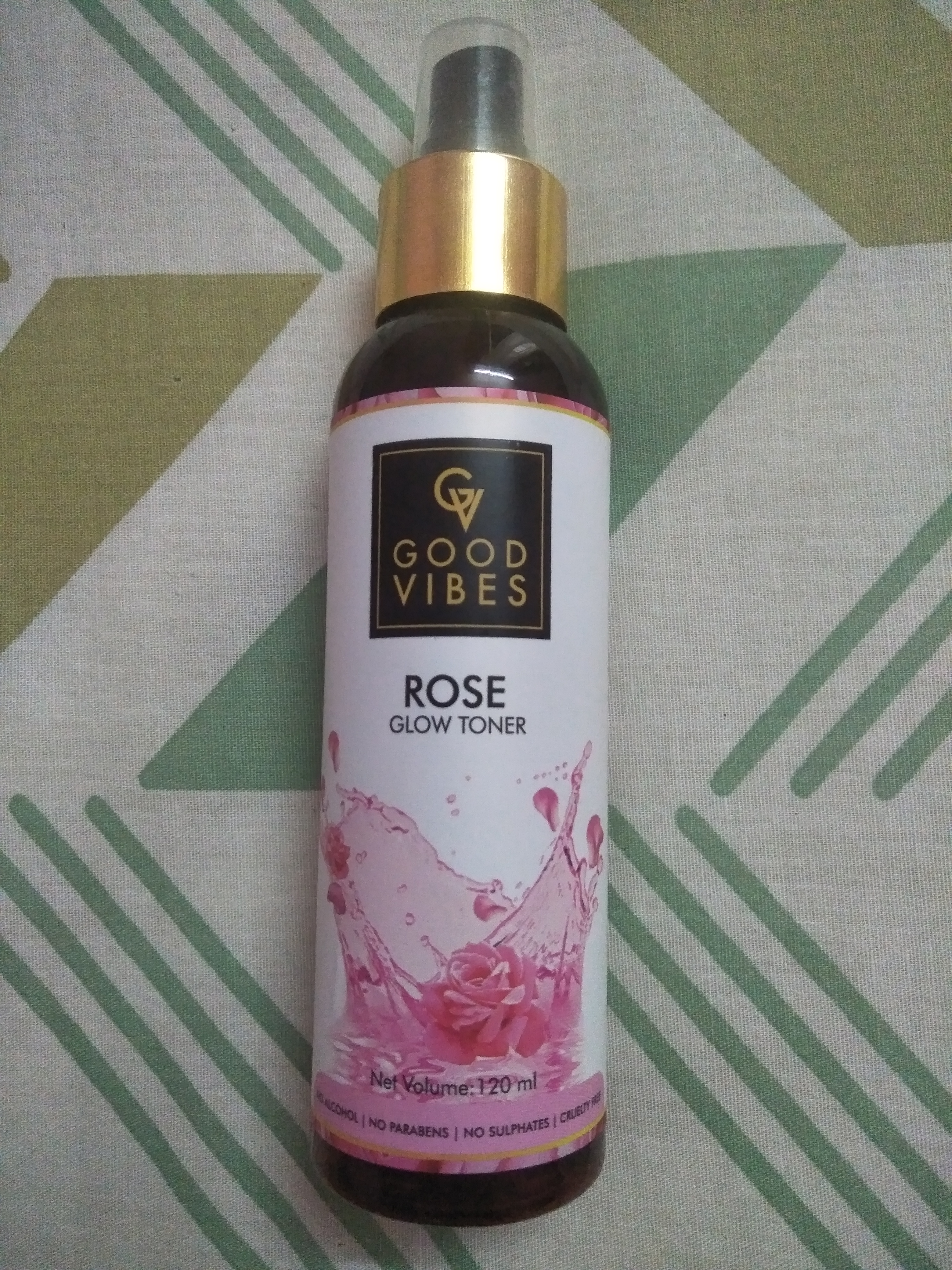 Good Vibes Rose Glow Toner -MY ALL TIME FAVOURITE!-By milien_maria
