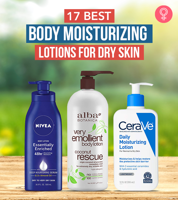 17 Best Body Moisturizing Lotions For Dry Skin – 2021