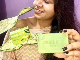 Medimix Ayurvedic Natural Glycerine soap with Lakshadi Oil pic 1-Ayurvedic care for skin-By thatmeishagal