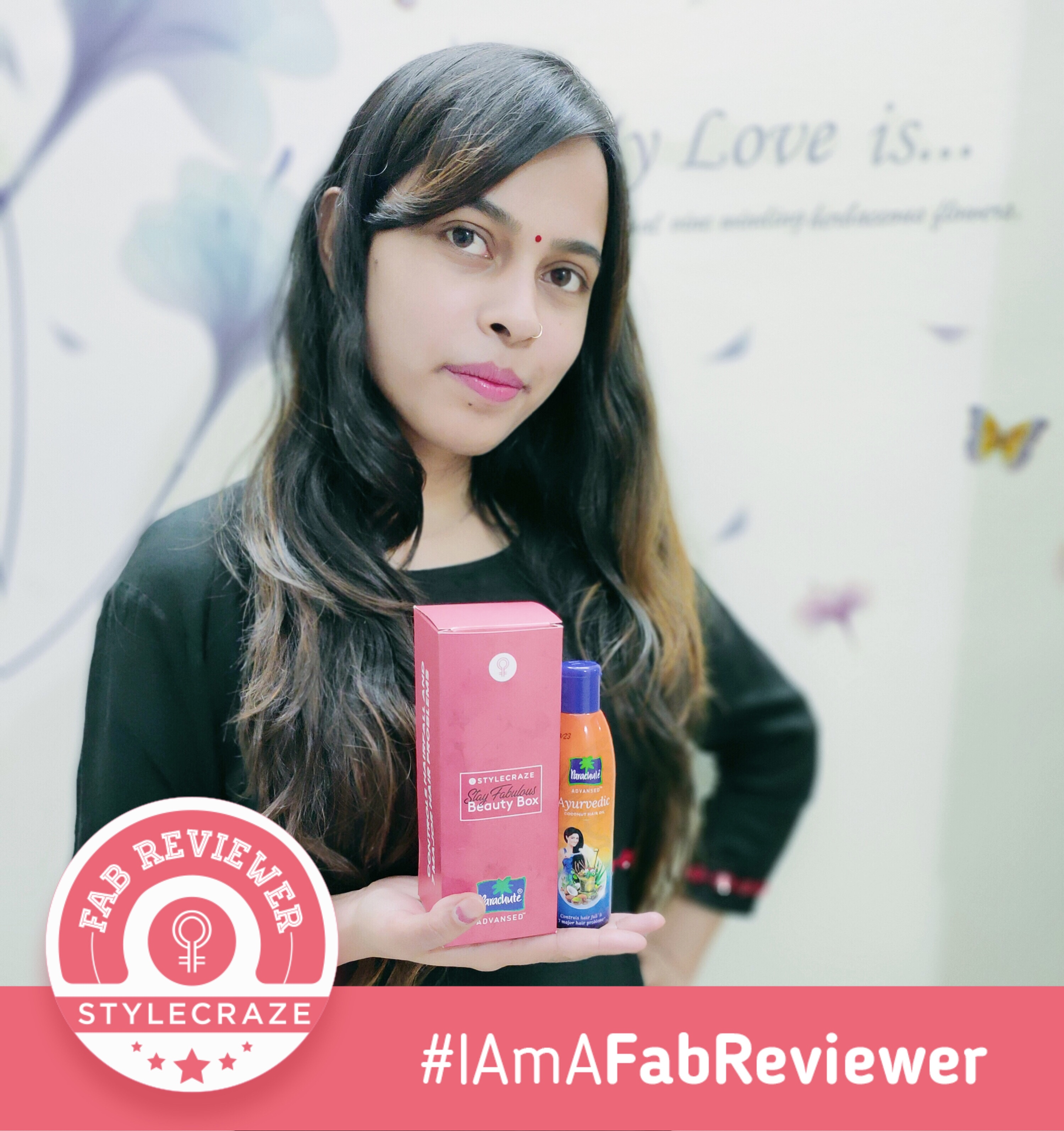 Parachute Advansed Ayurvedic Coconut Hair Oil-Worried about Hair fall-By arnica_vlogs