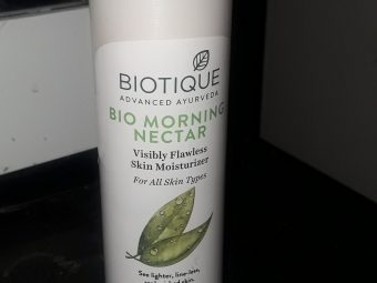 Biotique Morning Nectar Visibly Flawless Skin Moisturizer pic 1-Best moisturizer in this price range.-By mohraj\\\'s_world