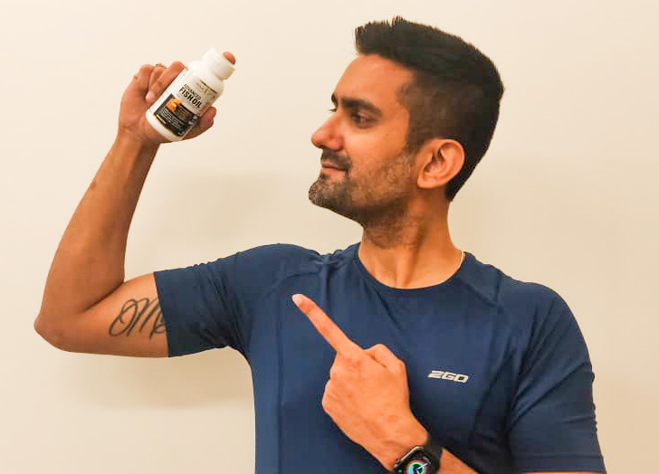 MuscleXP Enteric Coated Fish Oil 1000mg; 330mg Omega-3; 60 Burp-less, Rapid Release Softgels-Answer to my omega 3 daily need.-By abhinay_vij-1