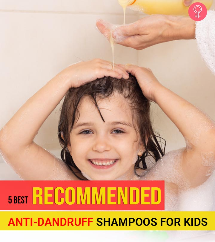 5 Best Recommended Anti-Dandruff Shampoos For Kids