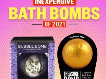 7 Best Inexpensive Bath Bombs Of 2021