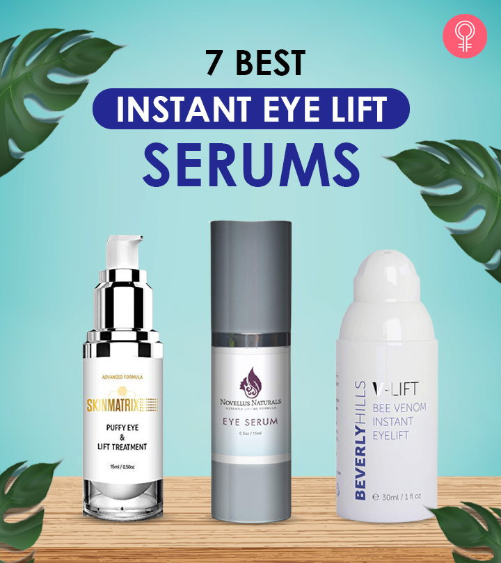 7 Best Instant Eye Lift Serums Of 2021
