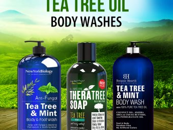 7 Best Tea Tree Oil Body Washes For All Skin Types