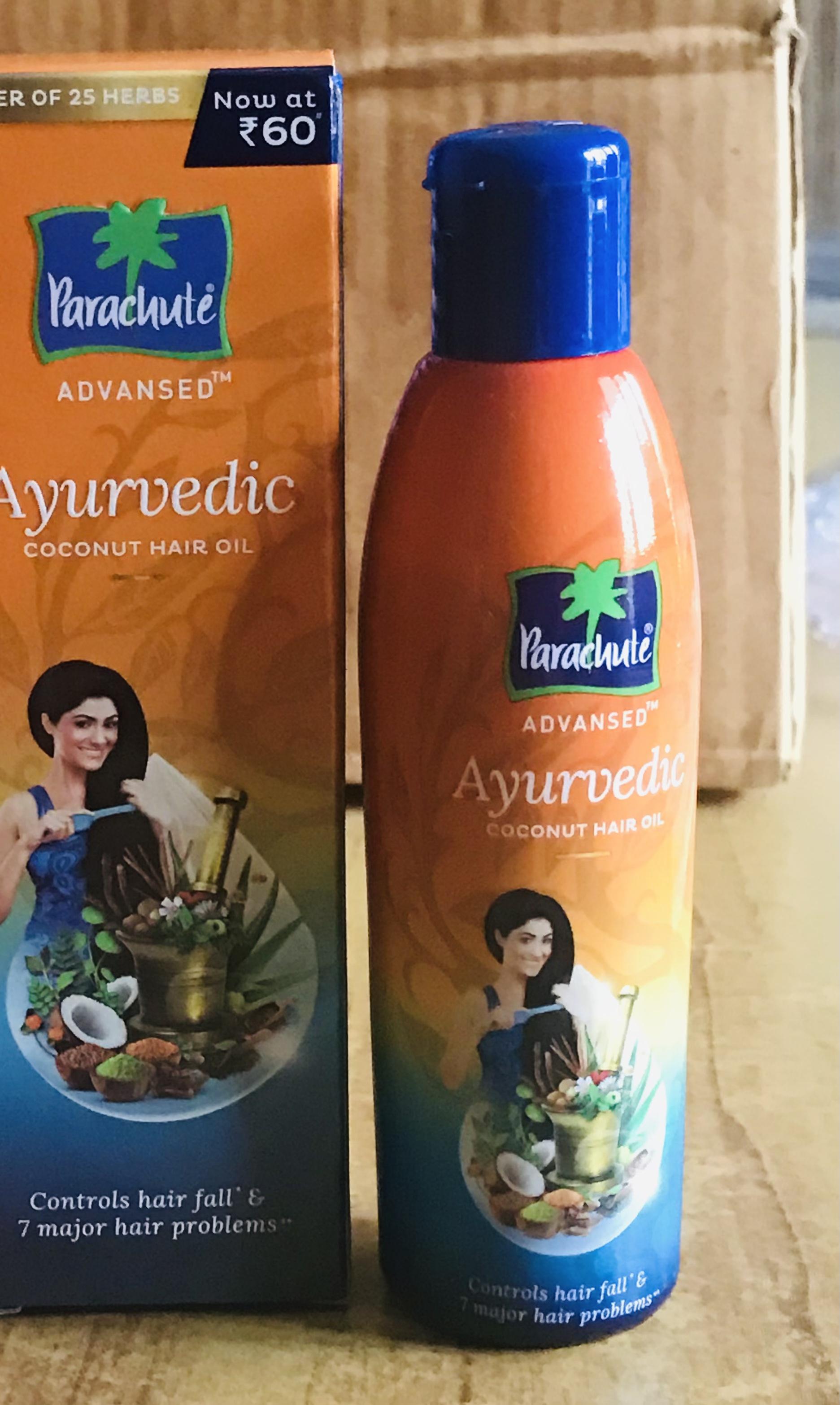Parachute Advansed Ayurvedic Coconut Hair Oil-Most effective hair oil on dandruff-By sarita_choudhary