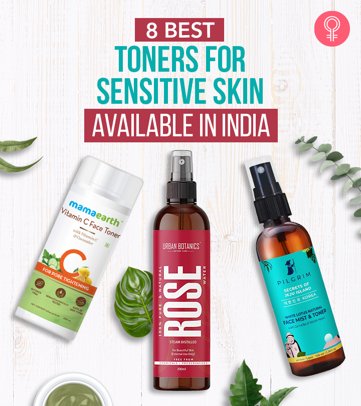 8 Best Toners For Sensitive Skin Available In India