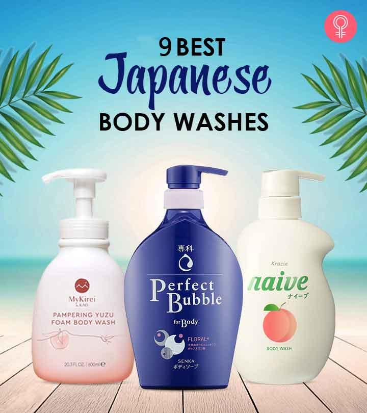 9 Best Japanese Body Washes