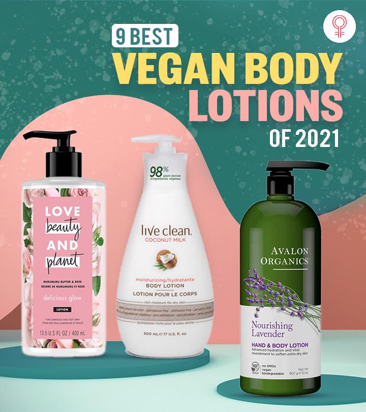 9 Best Vegan Body Lotions Of 2021