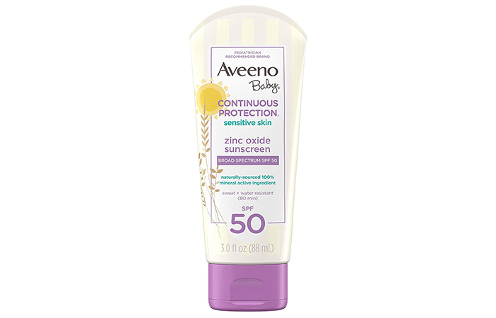 Aveeno Baby Continuous Protection Sensitive Skin Sunscreen