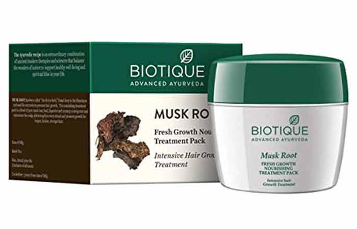 BIOTIQUE Musk Root Fresh Growth Nourishing Treatment Pack