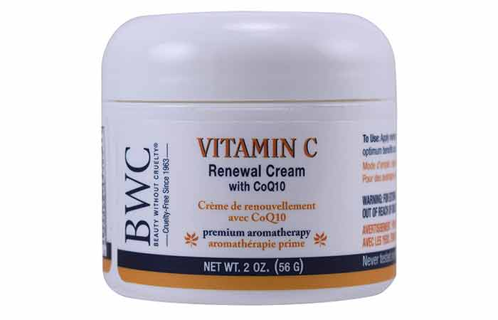Beauty Without Cruelty Vitamin C Renewal Cream With CoQ10