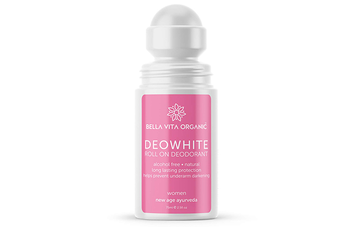 Bella Vita Organic Deo White Roll On Deodorant