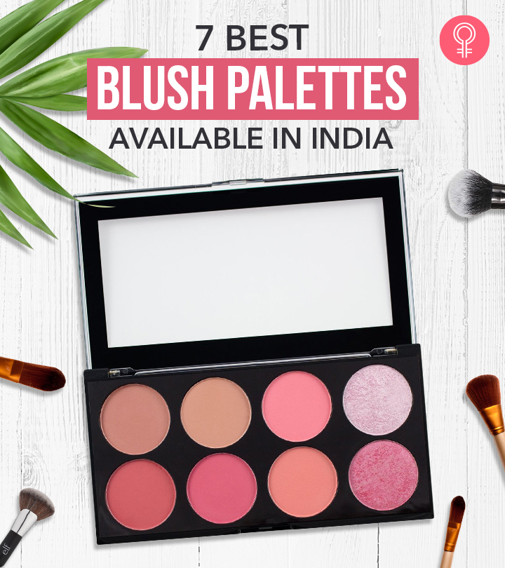 7 Best Blush Palettes Available In India
