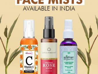 Best Face Mists Available In India